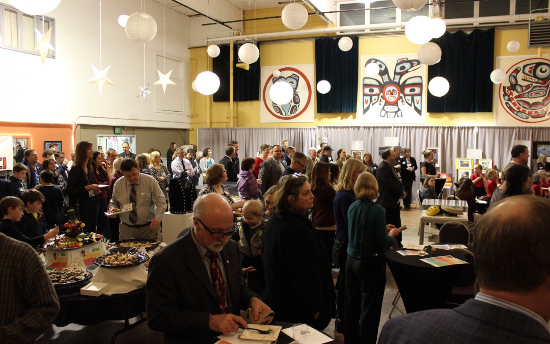 Administrator legislative reception in Juneau an art-filled success