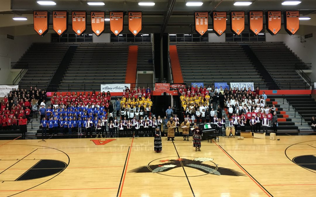 Anchorage School District 1st annual Chorale Jubilee!