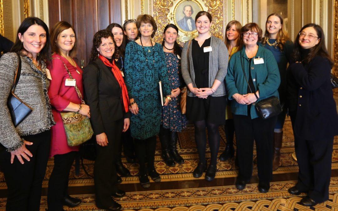 Senator Murkowski meets Kodiak and Juneau arts supporters