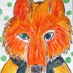 animal portraits, fox