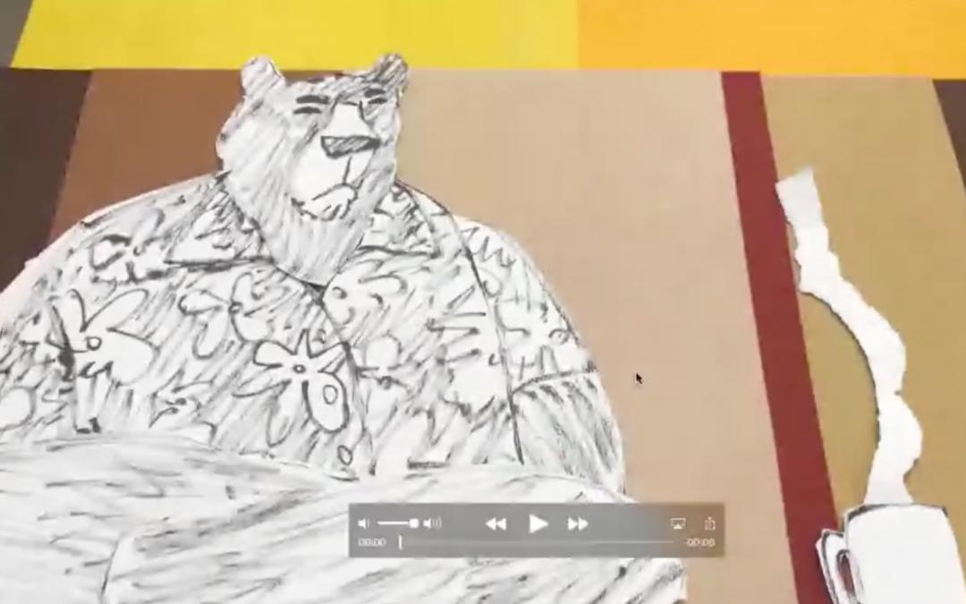 Bear animation still